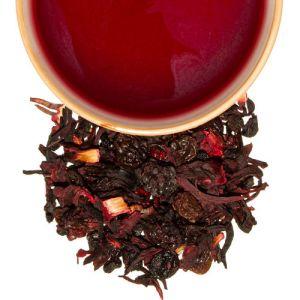 infusion de berries mora arándanos pasas hibiscos jamaica rosa mosqueta