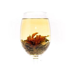 blooming tea té verde osmanthus y azucena
