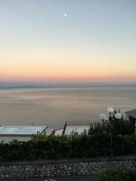 vista da casa - tramonto