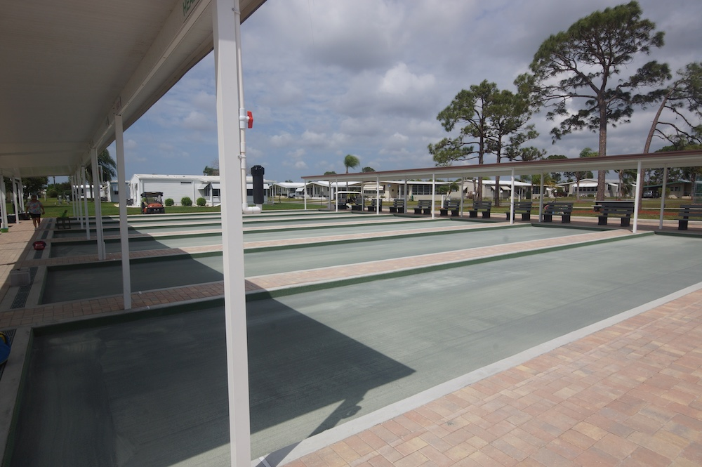 La Casa Mobile Home Park Bocce Courts