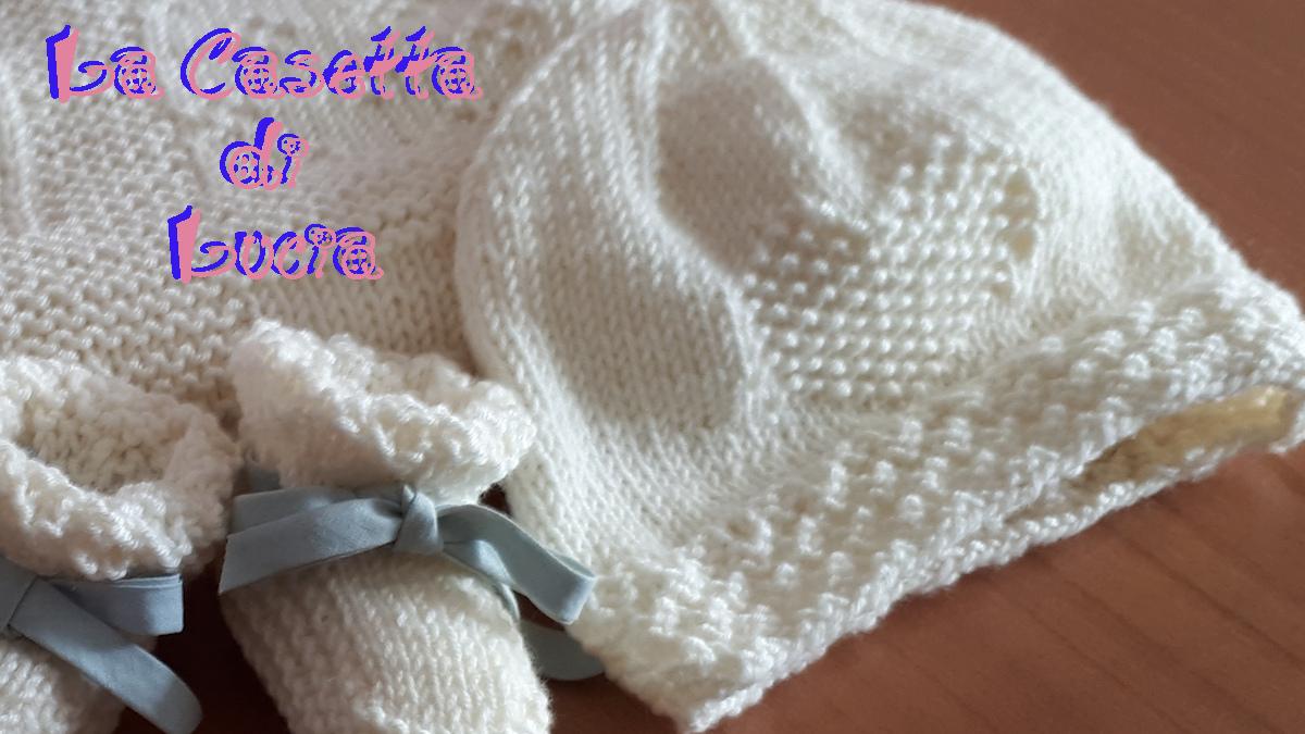imbattuto x stili di moda Acquista Cappellino Neonato Trilli ai Ferri - La Casetta di Lucia