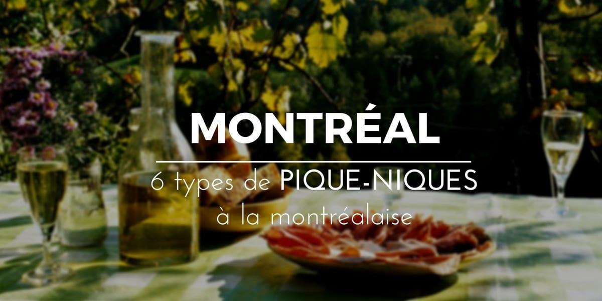 Pique-nique Montréal
