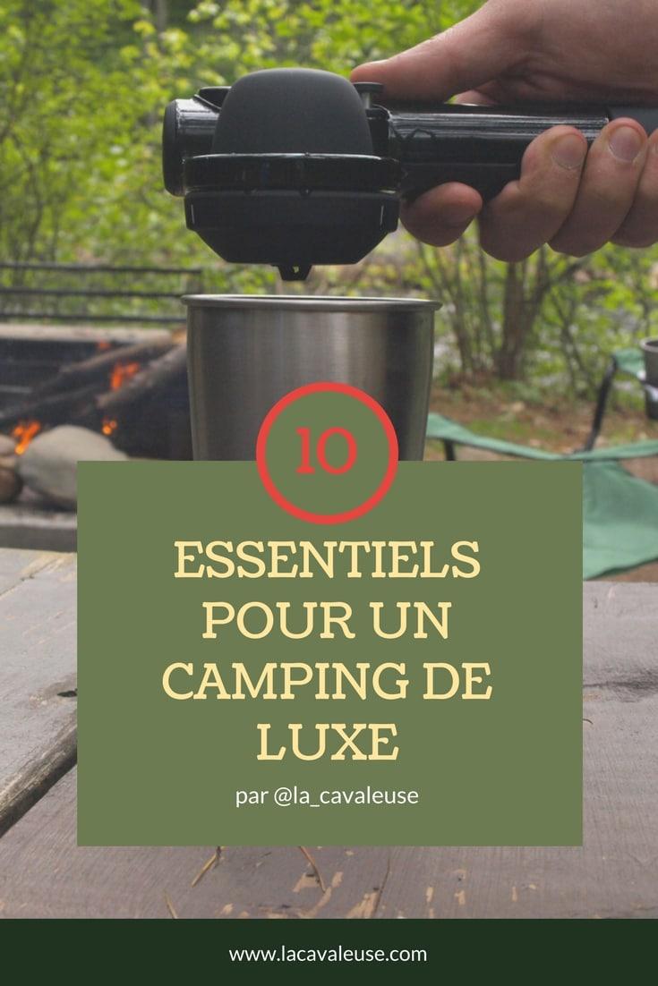 Essentiels pour un camping de luxe