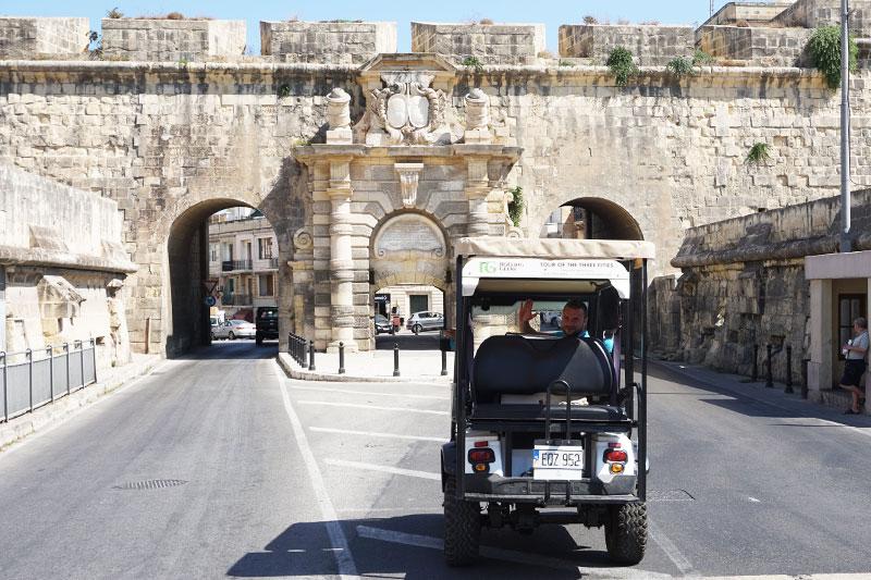 Visite des 3 cités à Malte