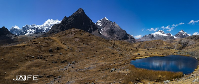 Panorama des Andes