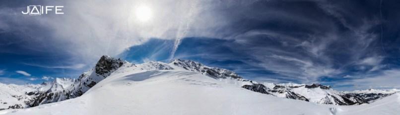 Panorama du Mont Curlet - Queyras 2013