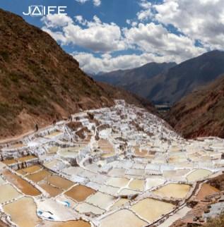 Salt mine in Maras