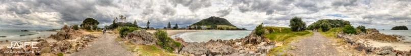 Panorama depuis Moturiki Island