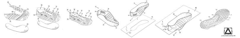 [Brevet] Nike et l'impression 3D 5