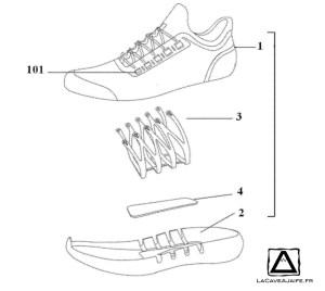 [Brevet] Anta, la chaussure version chinoise 2