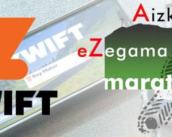 Zwift lance e-Zegama