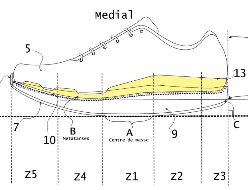 [Brevet] La future chaussure de The North Face avec une plaque carbone 2