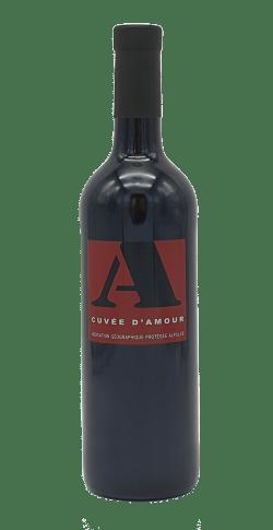 Bouteille vin Cuvée d'Amour rouge