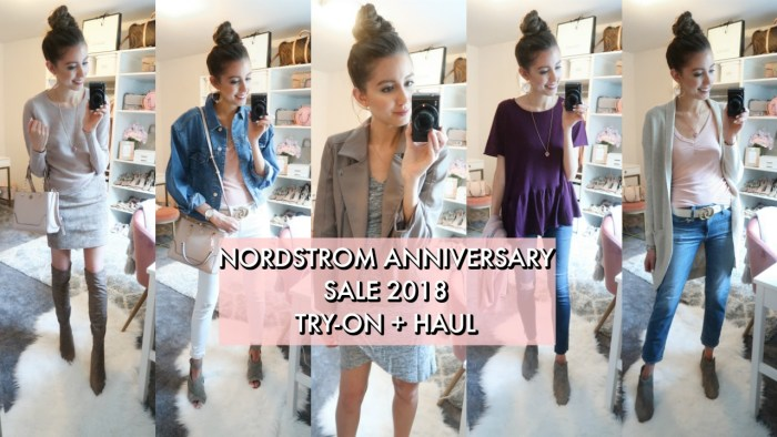 428971ea08a Today I m excited to share a haul + try-on of what I ordered online at the  Nordstrom Anniversary Sale! This year especially
