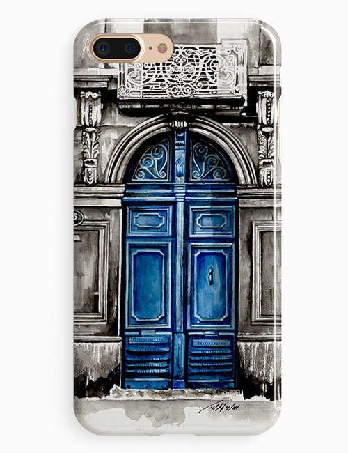 Old Blue Door | باب أزرق قديم