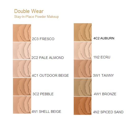 Estee Lauder Double Wear Stay in place powder makeup spf ...
