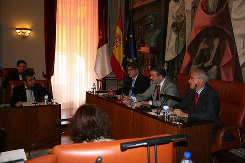 Pleno de la Diputación Provincial de Ciudad Real