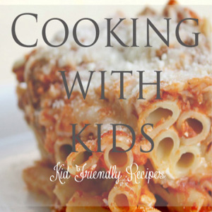 Letting the kids cook-kid friendly printable recipes