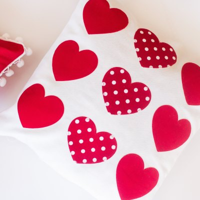 DIY Heart Pillow