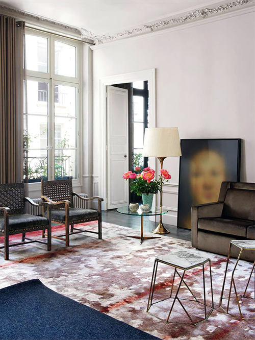 Home tour: apartment in Rue de la Sourdière, Paris, by Studio Ko - selected by La Chaise Bleue (lachaisebleue.com)