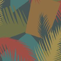 Cole & Son - Deco Palm 105:8039 - Geometric II