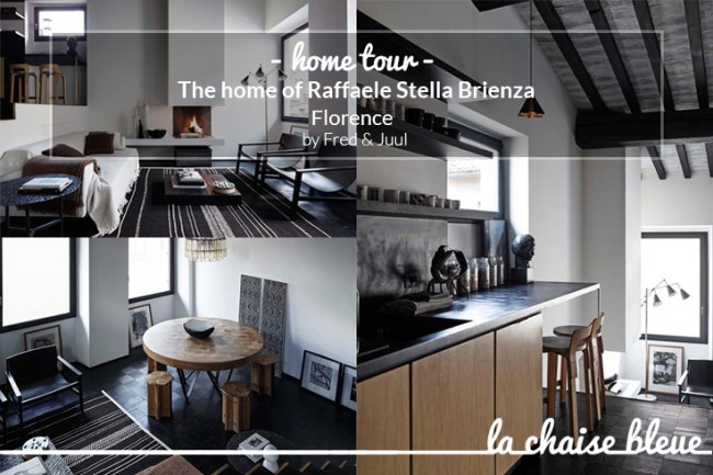 Home tour | The home of Raffaele Stella Brienza in Florence, by Fred&Juul | selected by lachaisebleue.com