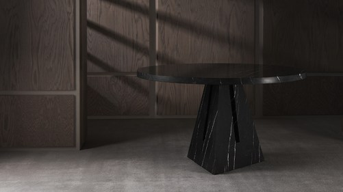 PORTAL TABLES IN MARBLE - APPARATUS STUDIO - Selected by La Chaise Bleue (lachaisebleue.com)