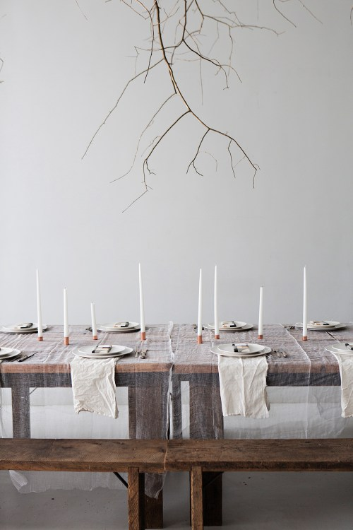 Weekend links #1 | La Tavola di Natale | Christmas Table Settings | via: Sunday Suppers | Selected by La Chaise Bleue (lachaisebleue.com)