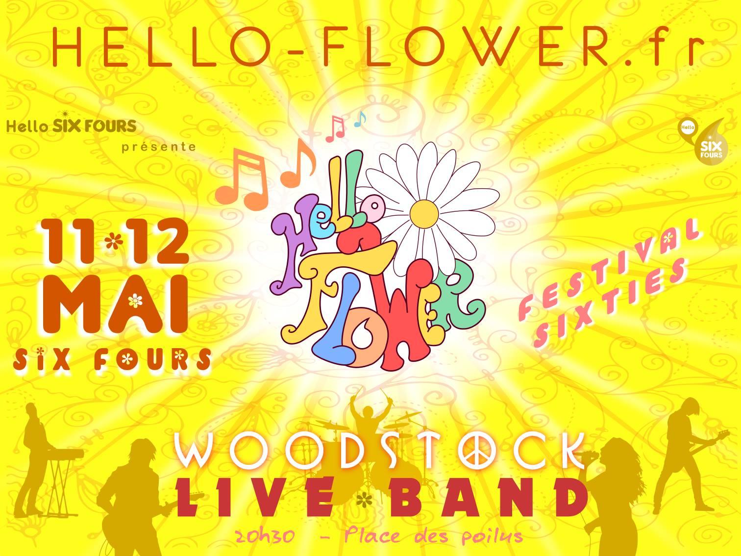 Hello Flower à Six Fours les 11 & 12 mai