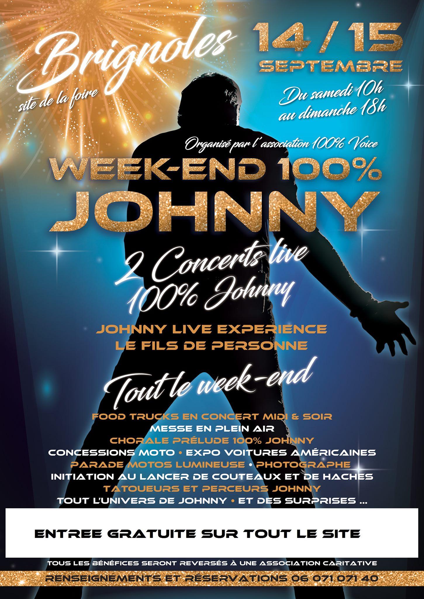 14 & 15.09 Week end 100% Johnny / Brignoles