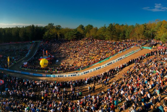 Le cyclo-cross au pays de Ridley