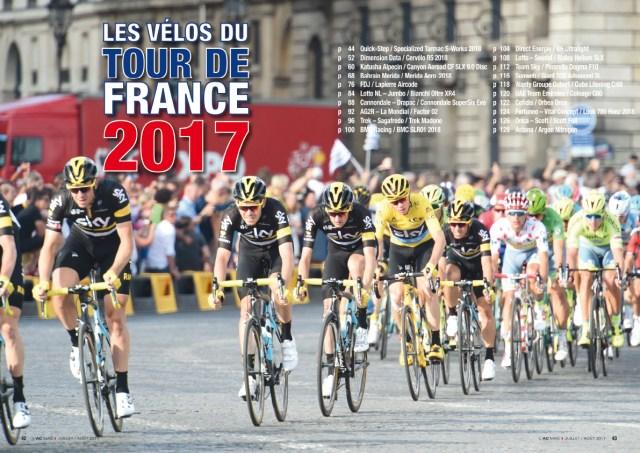 Les vélos du Tour 2017
