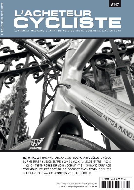 Couverture L'Acheteur Cycliste N°147