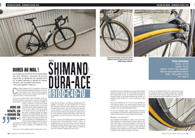 Roues Shimano Dura-Ace