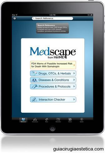 Apps médicas y farmacéuticas de interés