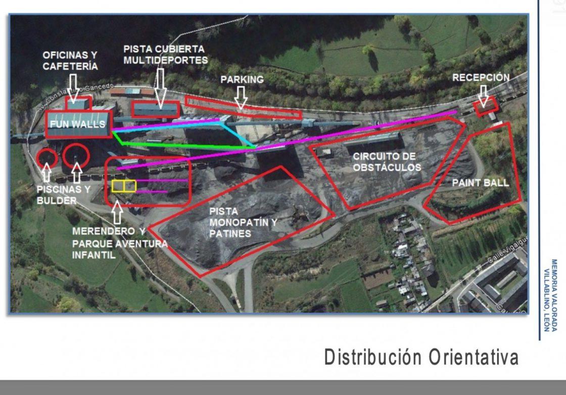 Proyecto centro multi-aventura en Villablino