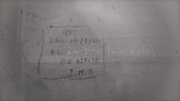 Museo Storico della Liberazione di Roma - graffiti