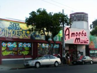 i quartieri più belli da vedere a San Francisco - Hight Ashbury Amoeba Music