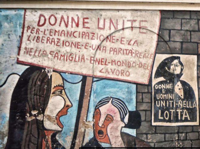 Orgosolo banditi murales anarchia