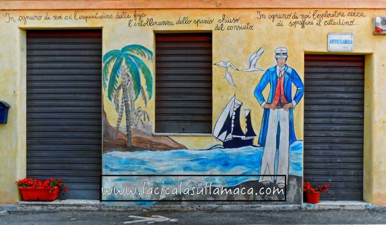 Nord Sardegna cosa vedere: murale ad Orgosolo