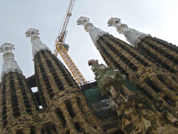 Quartieri di Barcellona cosa vedere _Dettaglio Sagrada