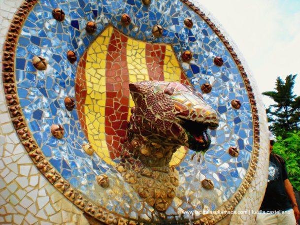 Parc Güell massoneria e magia_serpente