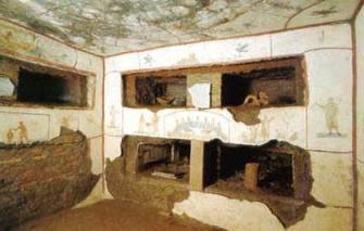 Roma sotterranea _cubicoli san callisto