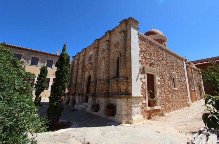 Cosa vedere a Creta penisola Akrotiri -Monastero di Gouverneto