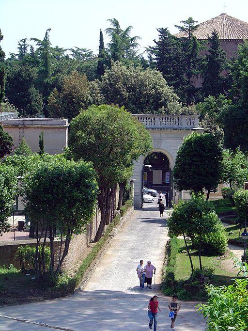Palazzetto Mattei Società Geografica Italiana - Villa Celimontana-ingresso