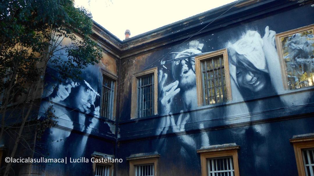 L'arte murale di Gomez al Museo della mente di Roma