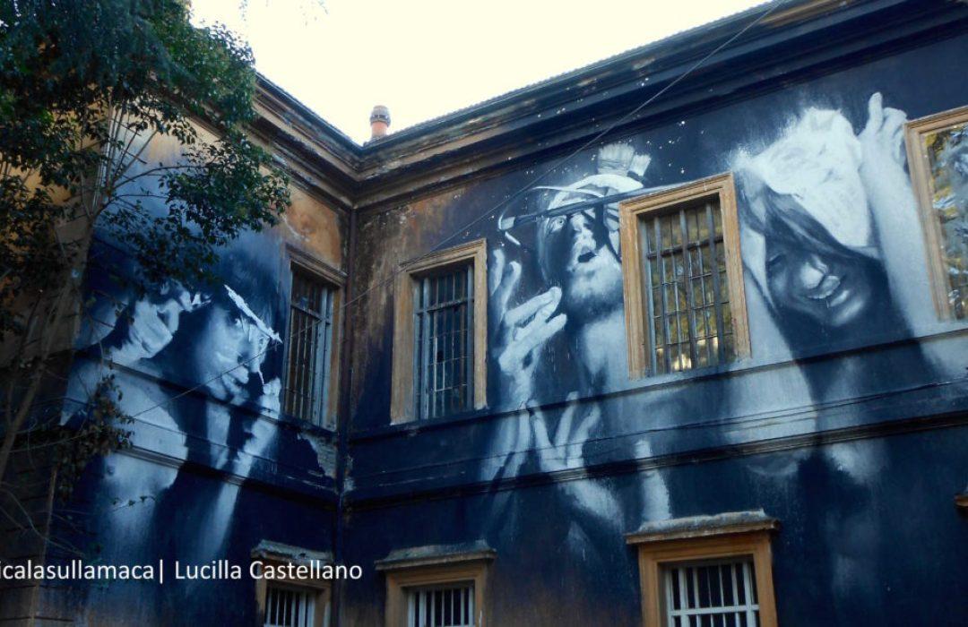 Street Art Roma | L'opera di Gomez al Santa Maria della Pietà