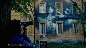 street art Gomez Santa Maria della Pietà Roma