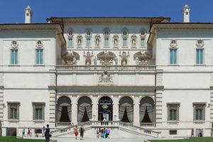 Musei più belli di Roma: facciata Galleria Borghese