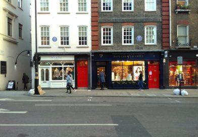 Le placche blu dell'English Heritage a Londra